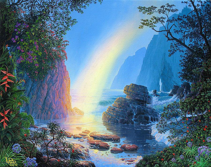Original Painting - Attainment by Loren Adams