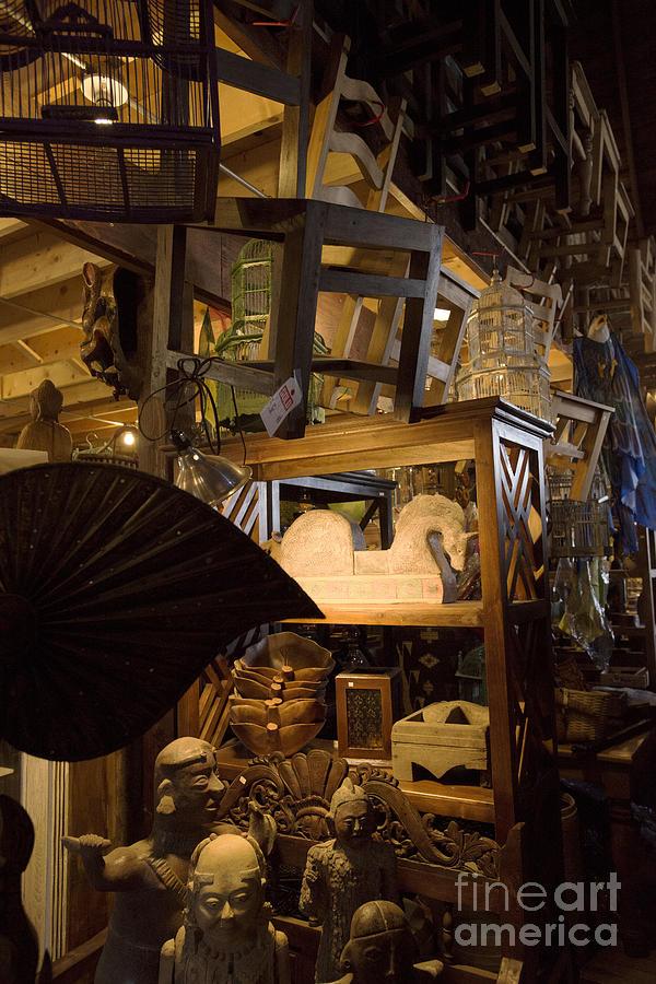Attic Clutter Photograph By David Bearden