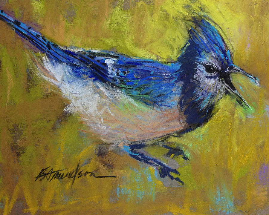 Bird Pastel - Attitude by Beverly Amundson