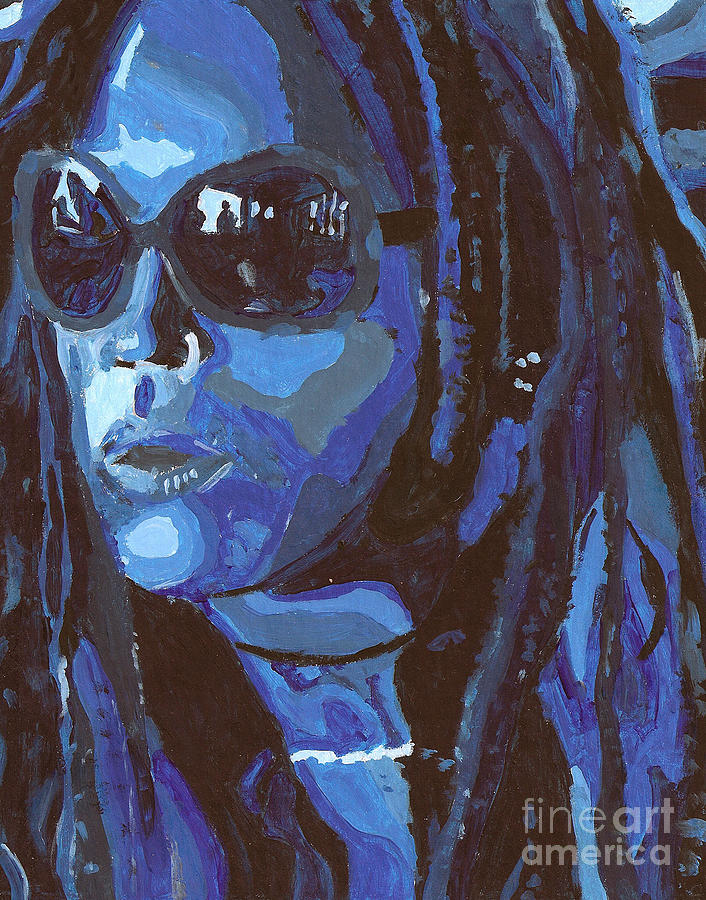 Sunglasses Painting - Attitude by Candice Waits