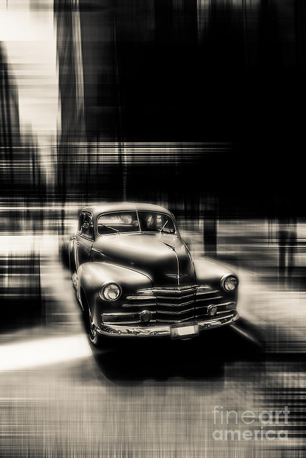 Nyc Photograph - attracting curves III gray by Hannes Cmarits