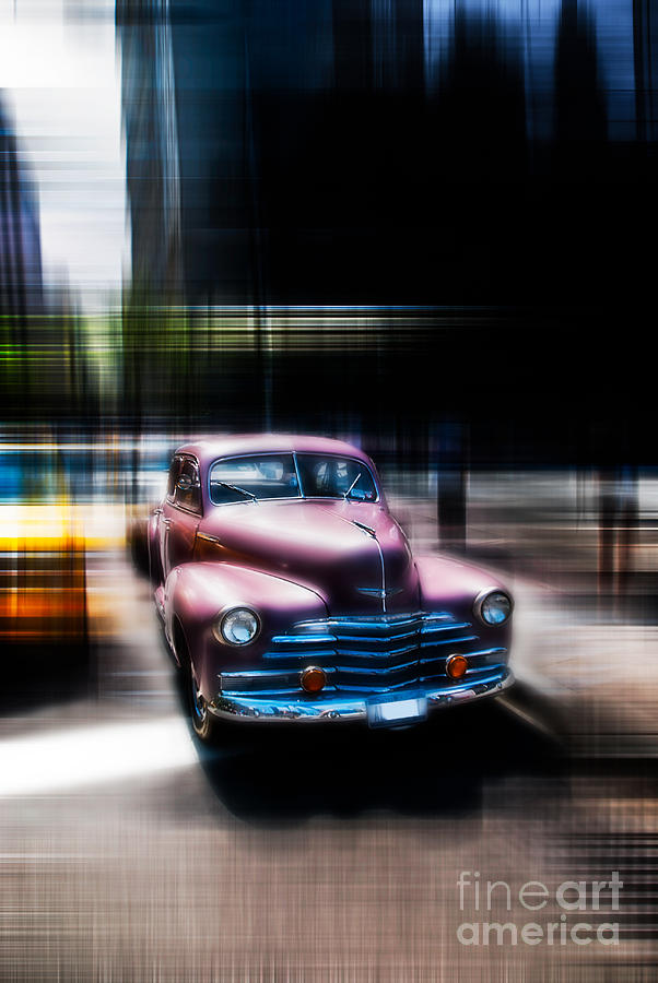Nyc Photograph - attracting curves III2 by Hannes Cmarits