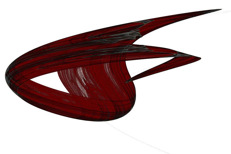Abstract Digital Art - Attractor No. 31 by Mark Eggleston