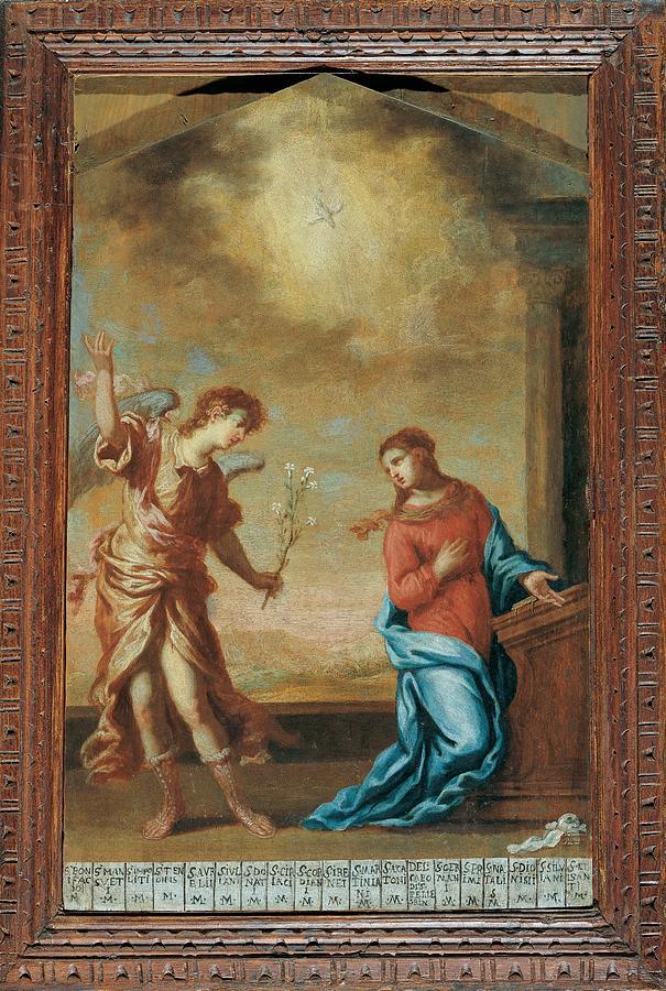 Annunciation Photograph - Attributed Guardi Francesco, Trinity by Everett