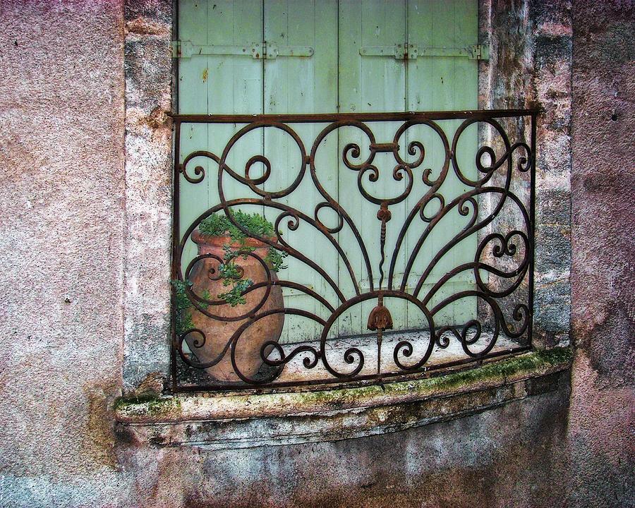 Balcony Photograph - Au Balcon by Nikolyn McDonald