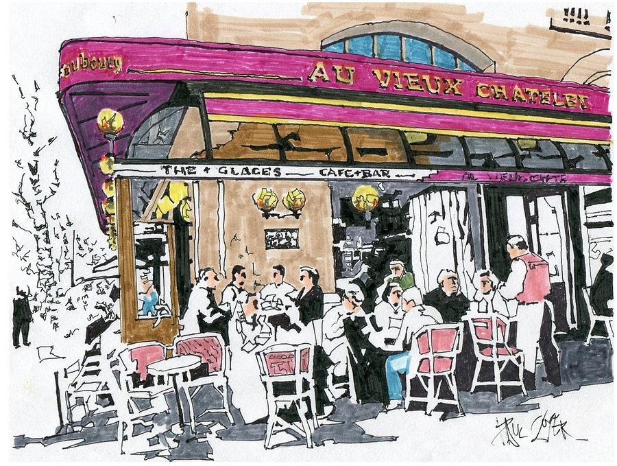 Cafe Paris Chatelet