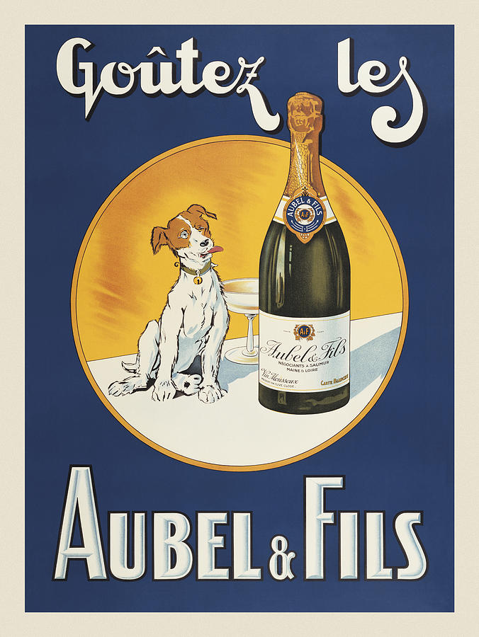 Car Painting - Aubel And Fils by Vintage Images