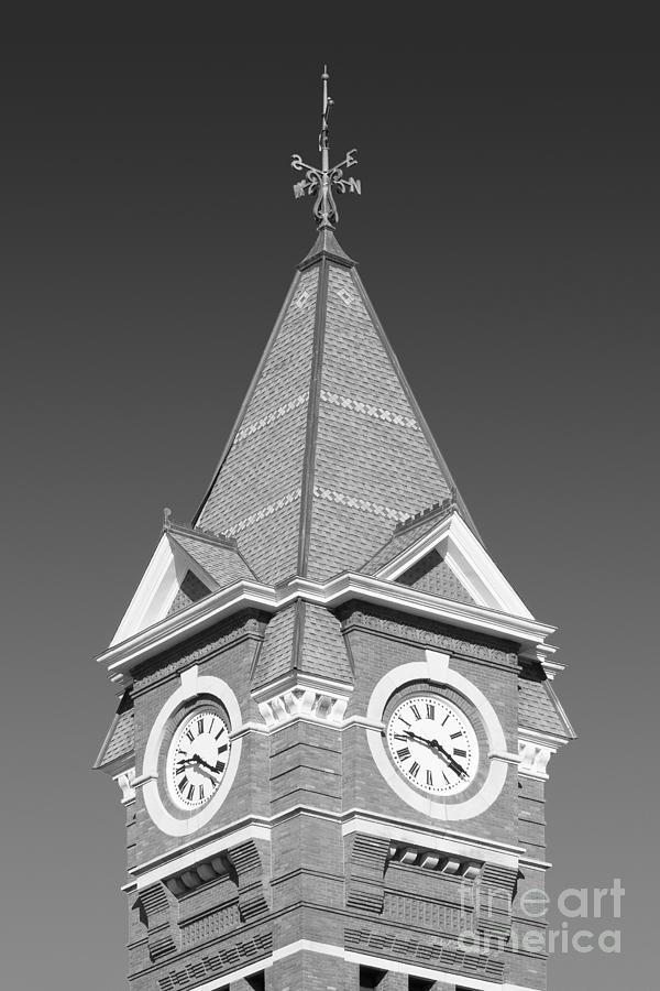 Alabama Photograph - Auburn University Samford Hall Clock Tower by University Icons
