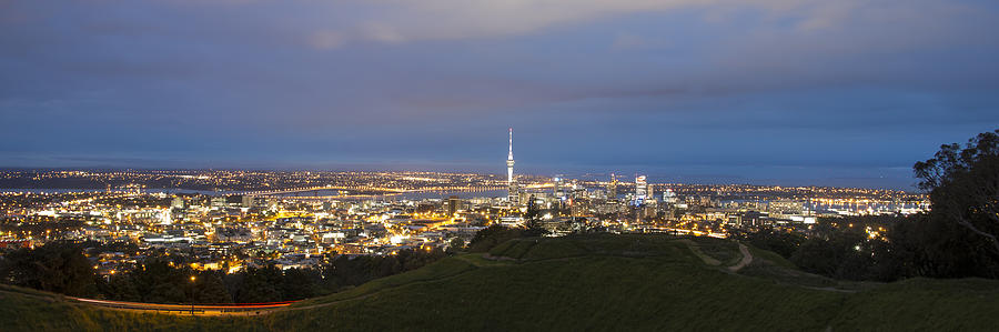 Auckland Photograph - Auckland Nights by David Yack