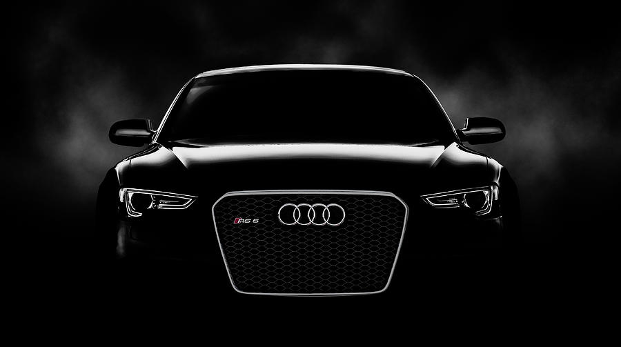 Audi Digital Art - Audi RS5 by Douglas Pittman