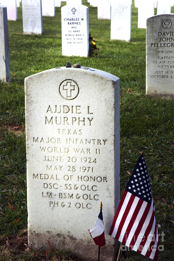 Audie Murphy - Most Decorated Photograph