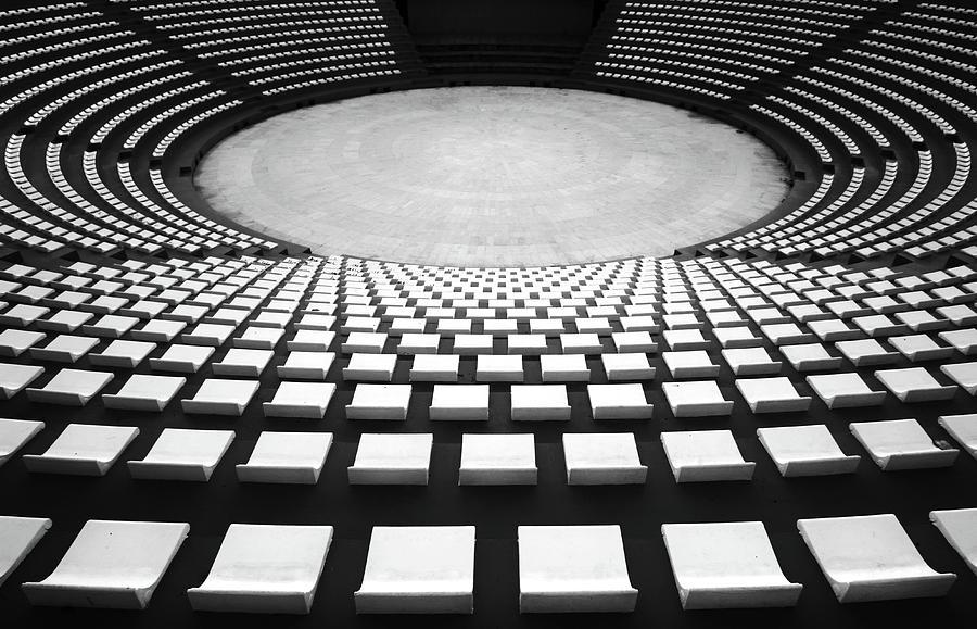 Konya Photograph - Auditorium by Hans-wolfgang Hawerkamp