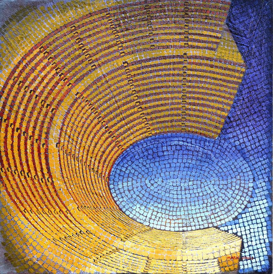 Roman Painting - Auditorium by Mark Jones