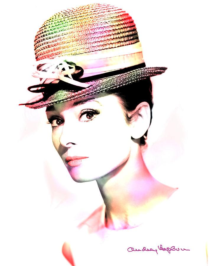 Hepburn Photograph - Audrey Hepburn 6 by Andrew Fare