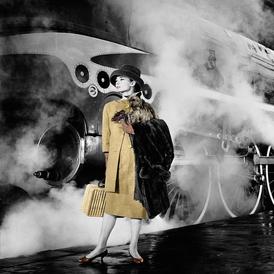 Audrey Hepburn 7 Photograph