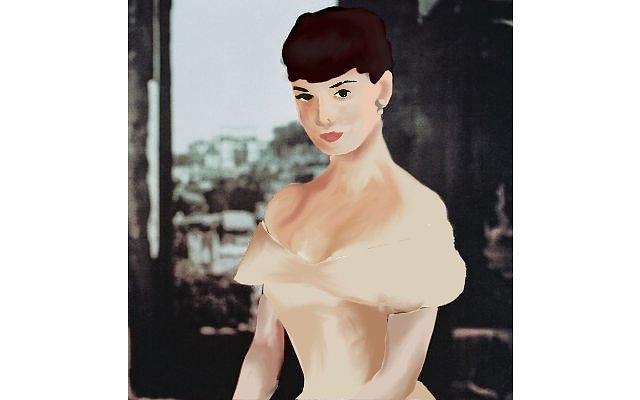 Audrey Hepburn Digital Art - Audrey Hepburn by Ana Babin