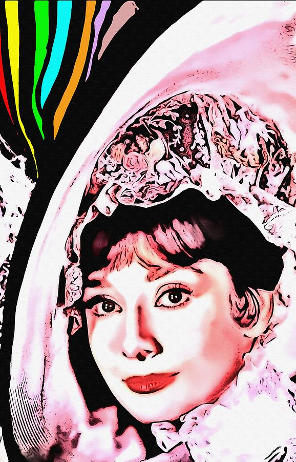 Actress Photograph - Audrey Hepburn In My Fair Lady by Art Cinema Gallery