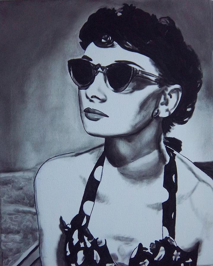 Audrey Hepburn Painting - Audrey Hepburn by Lori Keilwitz