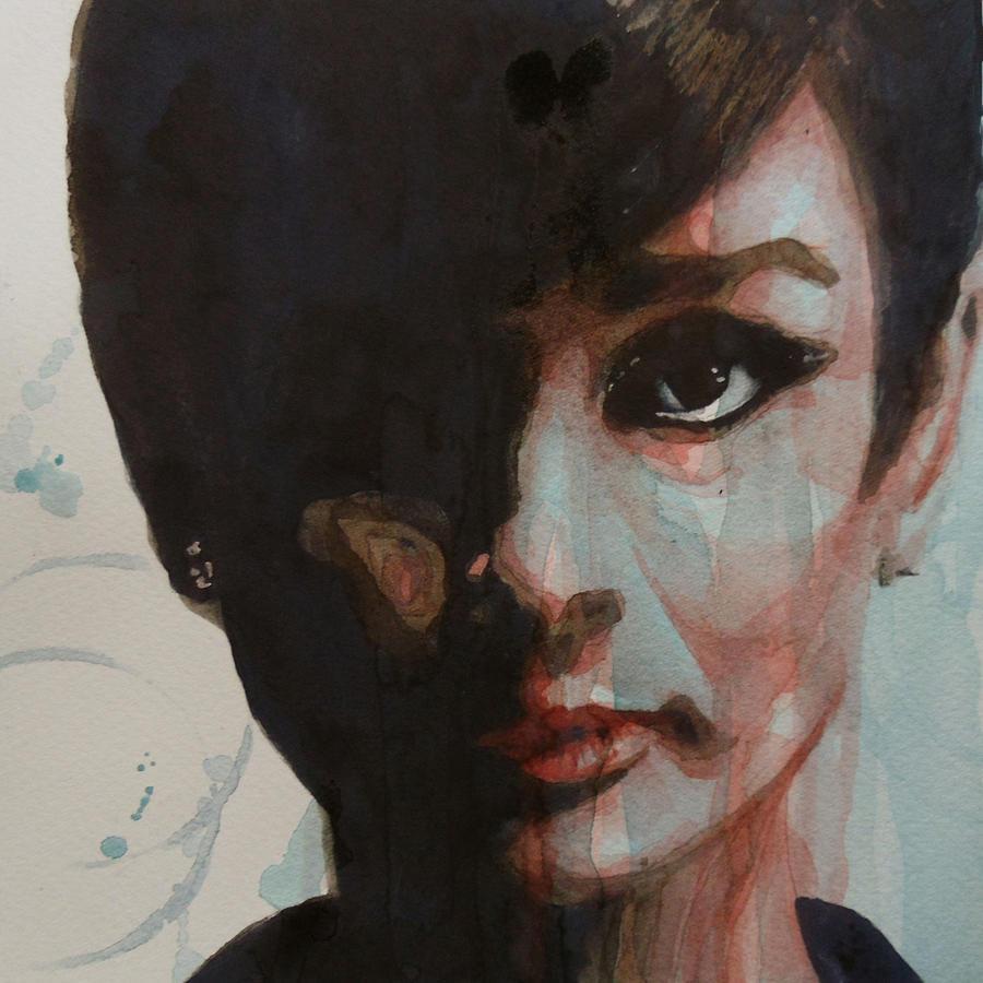 Audrey Hepburn Painting - Audrey Hepburn  by Paul Lovering