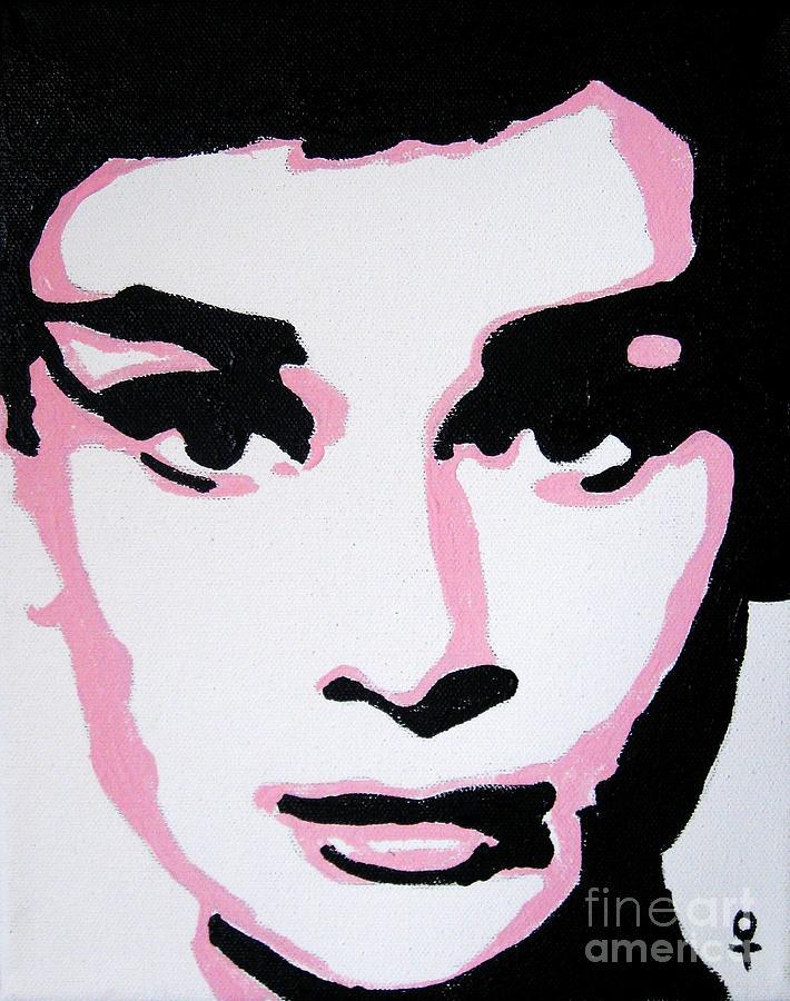Audrey Hepburn Painting - Audrey Hepburn by Venus