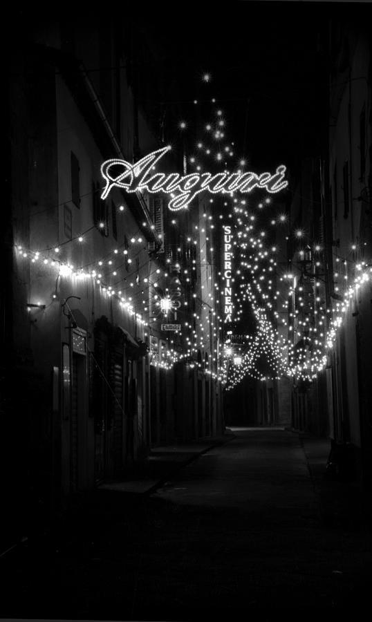 Auguri Photograph - Auguri To Florence by Visual Stenographer