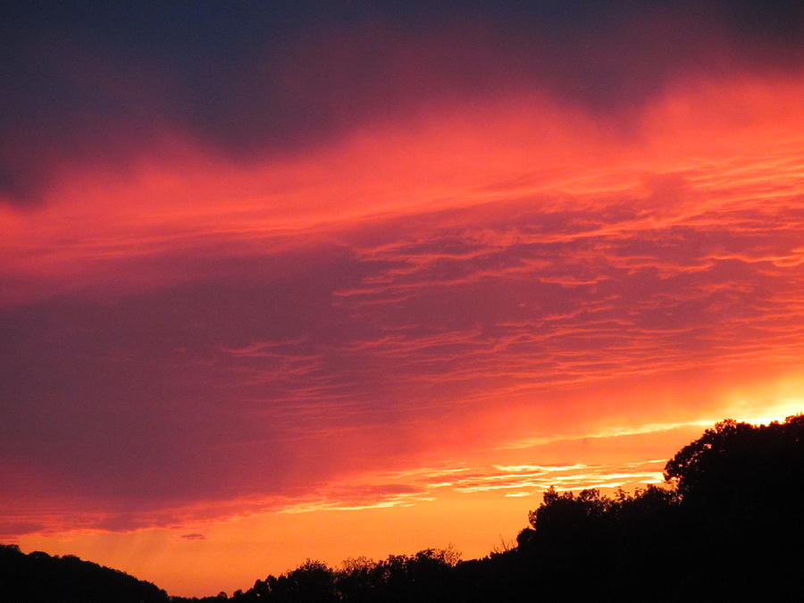 Sunset Photograph - August Gold by Denise   Hoff