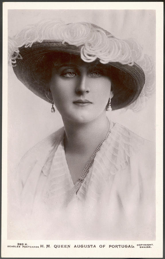 Augusta Photograph - Augusta, Queen Of Portugal Augusta by Mary Evans Picture Library