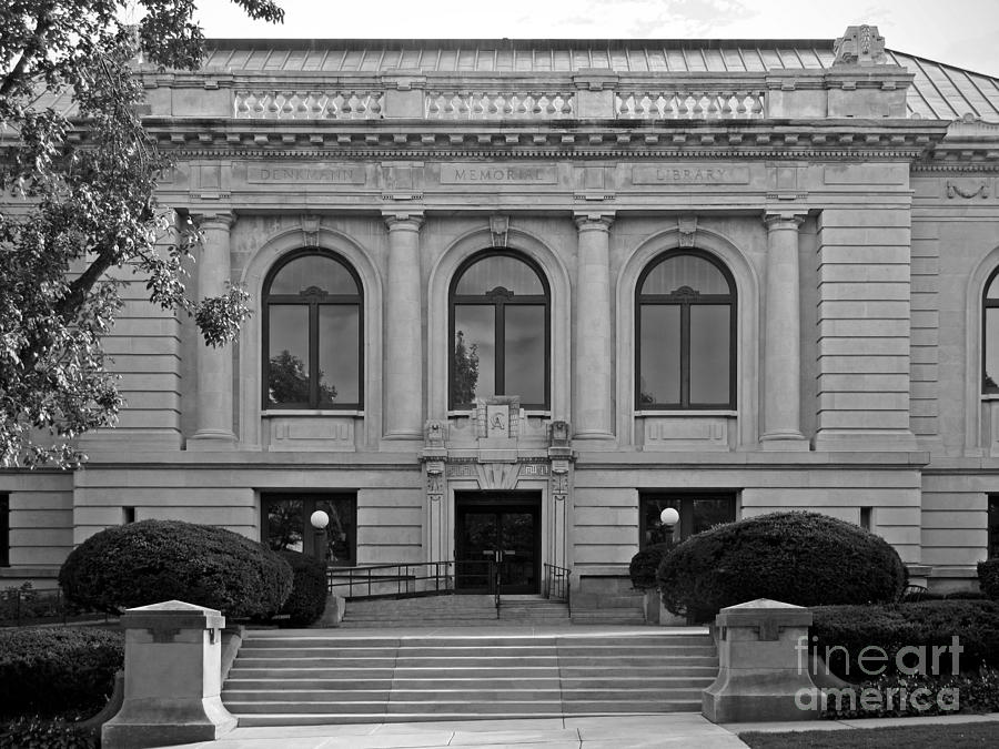 Augustana College Photograph - Augustana College Denkmann Memorial Hall by University Icons