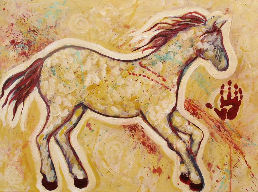 Aura Spirit Horse Painting