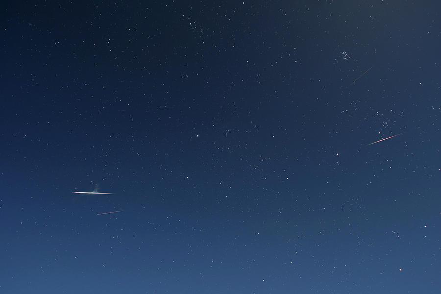 Aurigid Meteor Shower Photograph By Alan Dyer