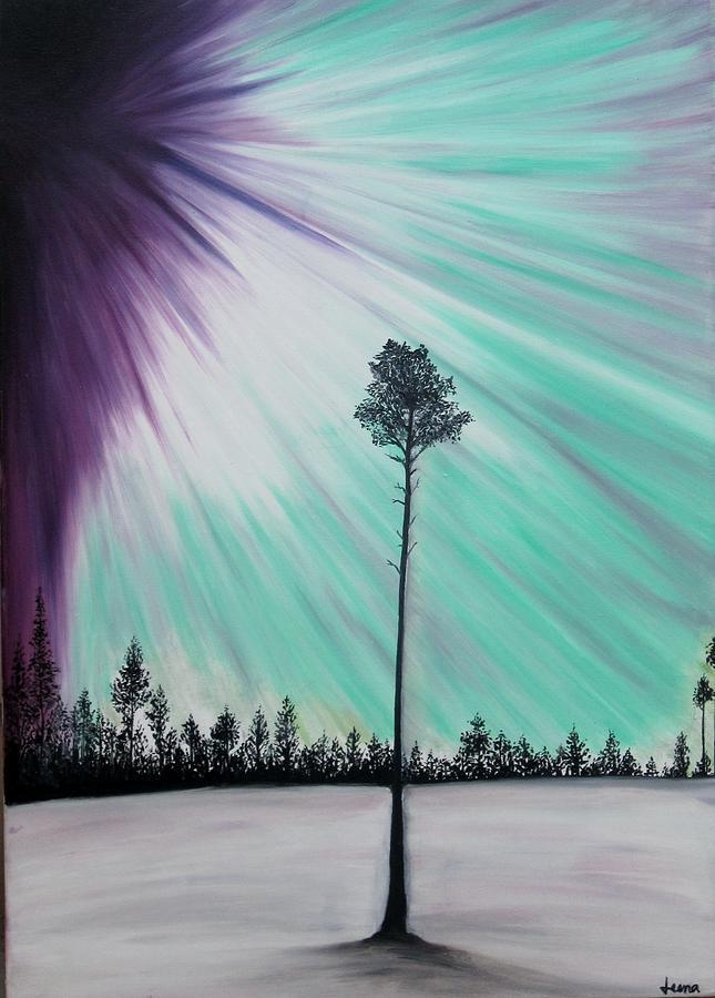 Painting - Aurora-oil Painting by Rejeena Niaz