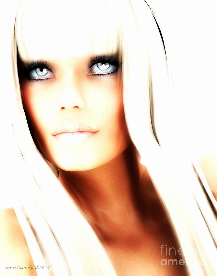 Blond Digital Art - Aurya by Sandra Bauser Digital Art