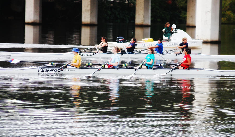 Women Photograph - Austin Rowing by Valerie Loop