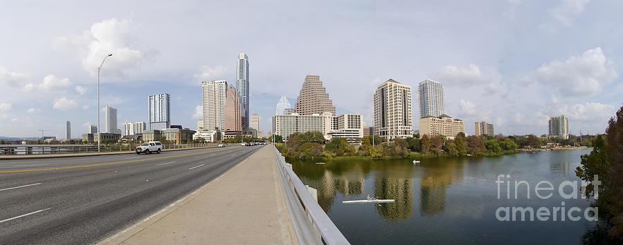 Austin Photograph - Austin Texas Skyline by Doug LaRue