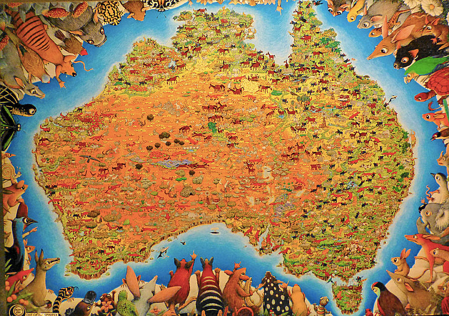 framed map art with Australia Animals Map Girish J on Moonrise further TH09 Lords Cricket Ground furthermore Wood Watercolor World Map Ica302 1PFA 24x16 FM01 in addition Onblack furthermore Me Seneca.