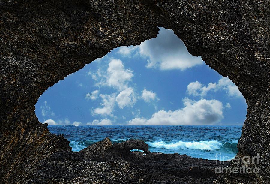 Australia Photograph - Australia Rock by Ben Yassa