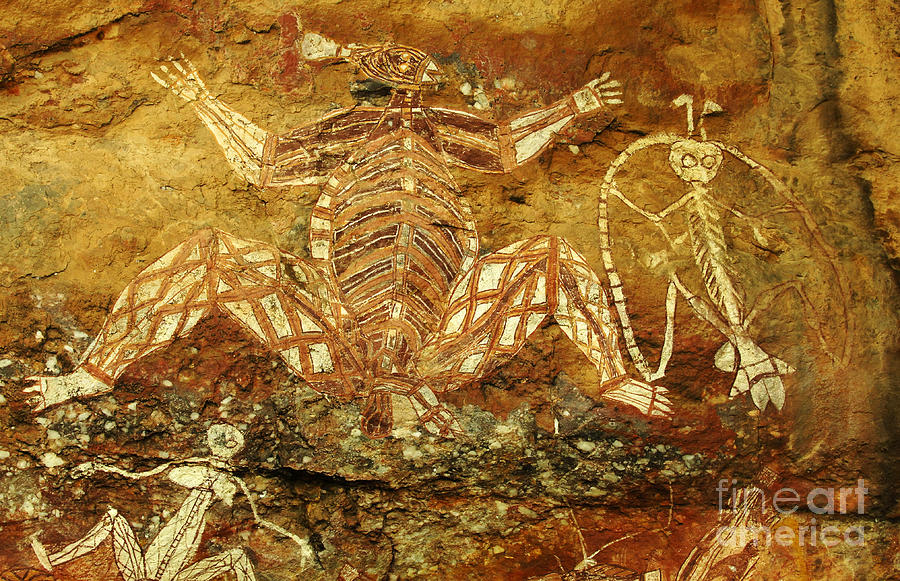 Australia Ancient Aboriginal Art 1 Photograph By Bob