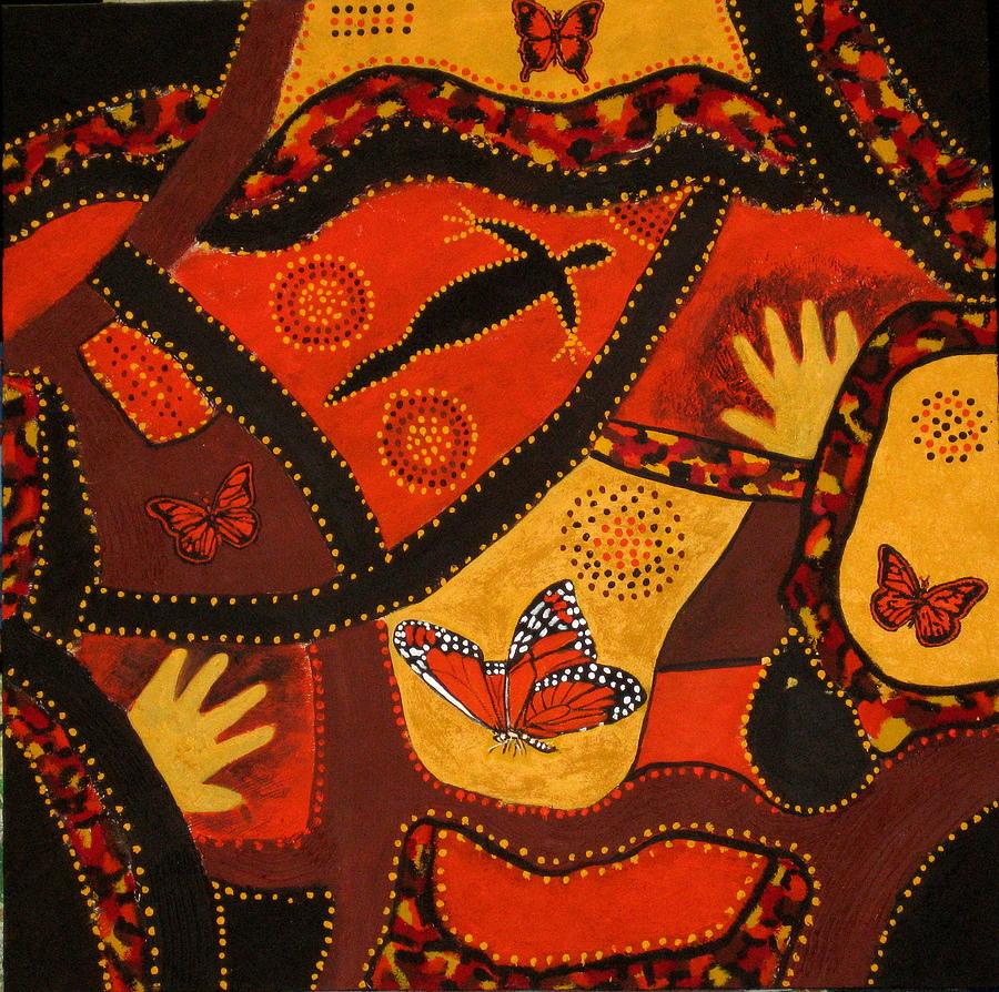 Landscape Painting - Australian Colours by Susan McLean Gray