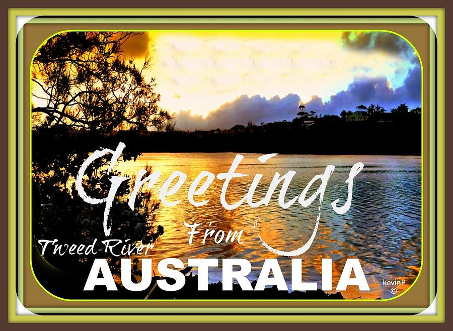 Australian Greeting Cards Photograph by Kevin Perandis