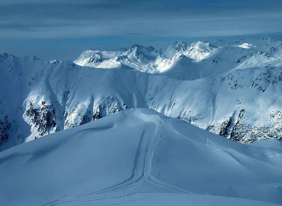 Colette Photograph - Austria Mountain Ischgl by Colette V Hera  Guggenheim