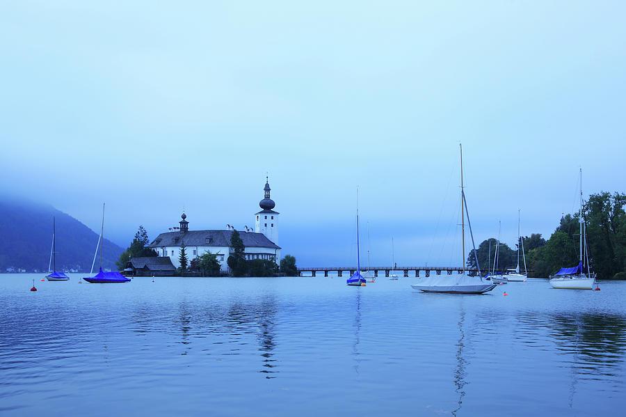Austria, Salzkammergut, Lake Traunsee Photograph by Hiroshi Higuchi
