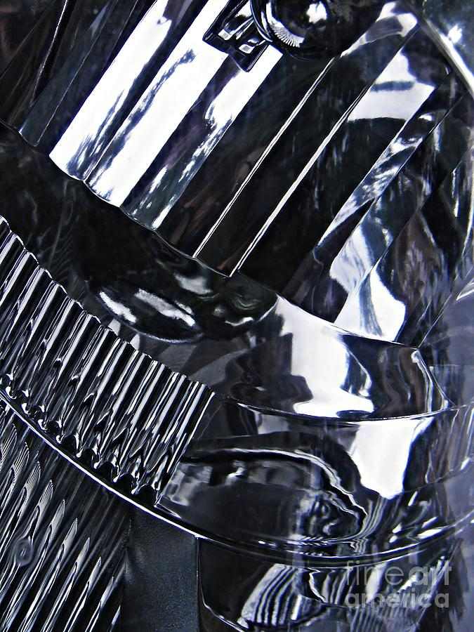 Headlight Photograph - Auto Headlight 10 by Sarah Loft