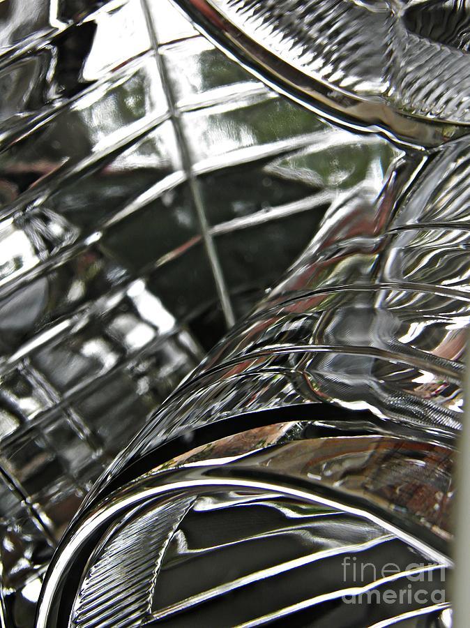 Headlight Photograph - Auto Headlight 8 by Sarah Loft