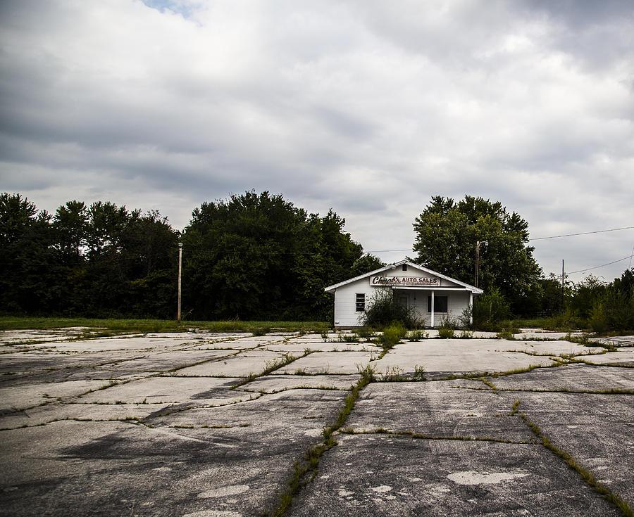 Missouri Photograph - Auto Sales by Angus Hooper Iii