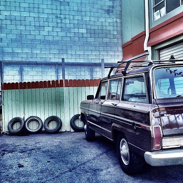 Losangeles Photograph - Auto Service Shop by Lauren Dsf