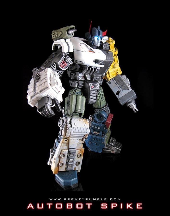 Autobot Spike Mixed Media By Frenzyrumble