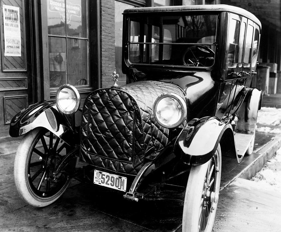 1916 Photograph - Automobile, 1916 by Granger
