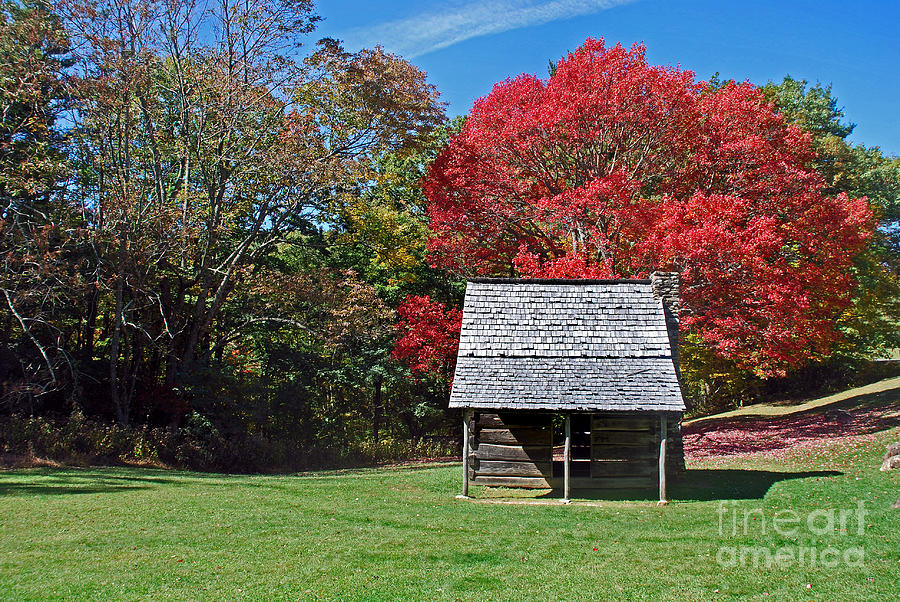 Scenic Tours Photograph - Autum For A Mountain Home by Skip Willits