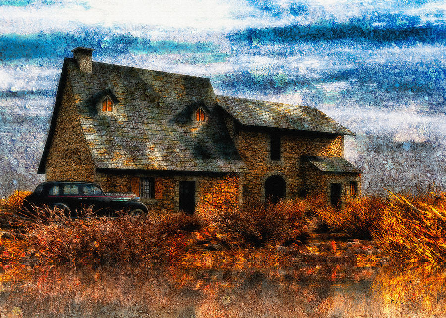Home Painting - Autumn 1936 by Bob Orsillo