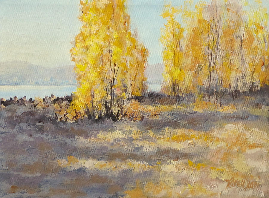 Acrylic Painting - Autumn Abandon by Karen Ilari